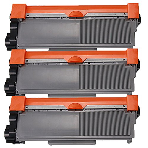 3 Inktoneram® Replacement toner cartridges for Brother TN-660 TN-630 Toner Cartridge replacement for Brother TN630 TN660 High Yield MFC-L2700DW MFC-L2720DW MFC-L2740DW DCP-L2520DW DCP-L2540DW HL-L2300D HL-L2320D HL-L2340DW HL-L2360DW HL-L2380DW