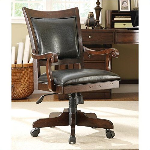 Castlewood Desk Chair (Chair Cushion Bankers)