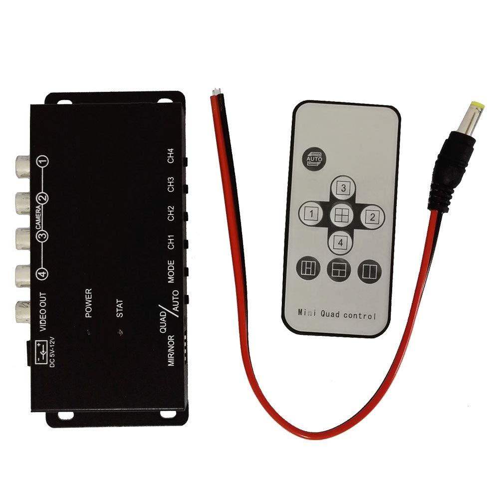 Control de infrarrojos 4 Cámaras Control de video Cámara de ...