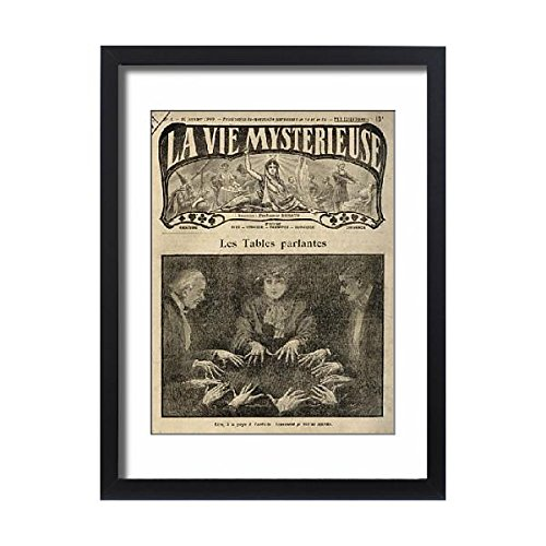 Framed 24X18 Print Of Mediumship/seance (574431) by Prints Prints Prints