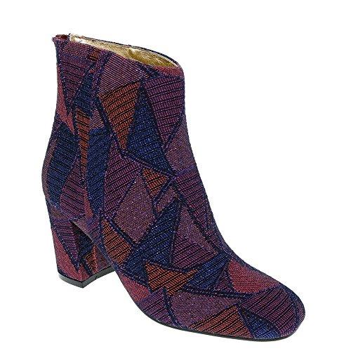 Bellini Glamour Donna Boot Vino-blu-multi