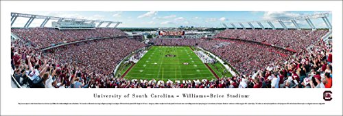 South Carolina Football End Zone - Unframed 40 x 13.5 Poster by Blakeway Panoramas
