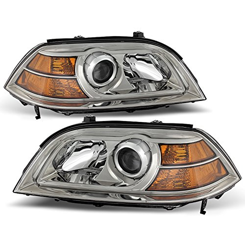 ACANII - For 2004-2006 Acura MDX Headlights Headlamps Head Lights Lamps Replacement Front Driver + Passenger Side