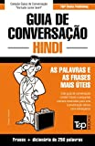 capa de Guia de Conversacao Portugues-Hindi E Mini Dicionario 250 Palavras