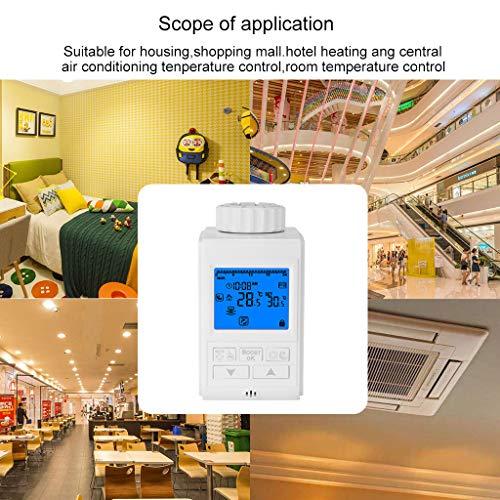 CONtenct Programmable Thermostat Timer TRV Radiator Valve Actuator Temperature Controller