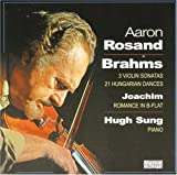 Brahms%3A 3 Violin Sonatas%3B 21 Hungari