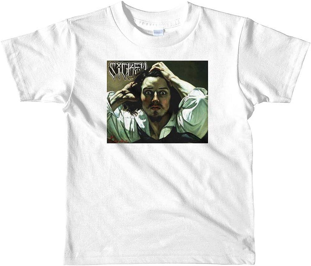 Frantic Short Sleeve Kids T-Shirt White