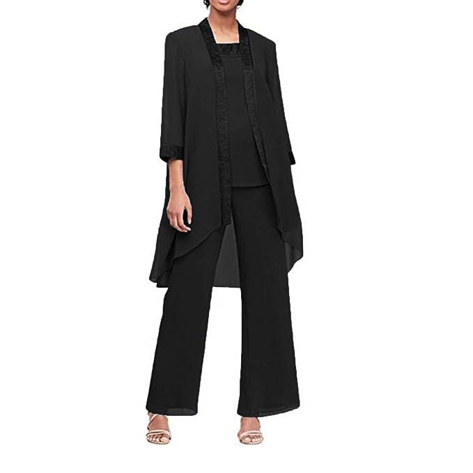Amazon.com: Vestido de gasa para mujer, 3 piezas, conjunto ...