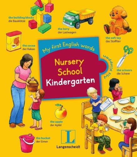 Nursery school - Kindergarten: My first English words, Englisch