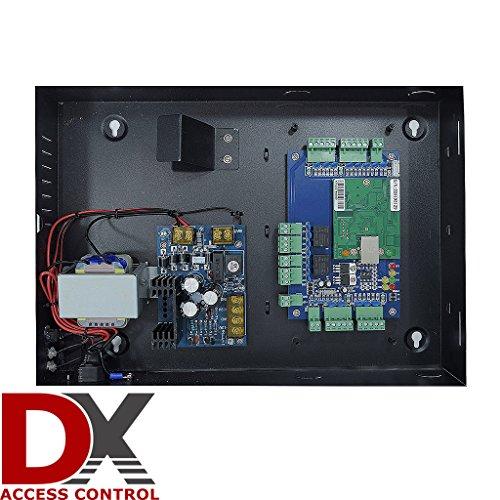 2 Door DX Access Control Panel Board-Software CD-Power Supply Box-Weatherproof by SecurityCameraKing