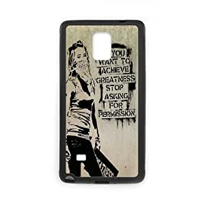 Personalised Phone case banksy For Samsung Galaxy Note 4 N9100 S1T3650