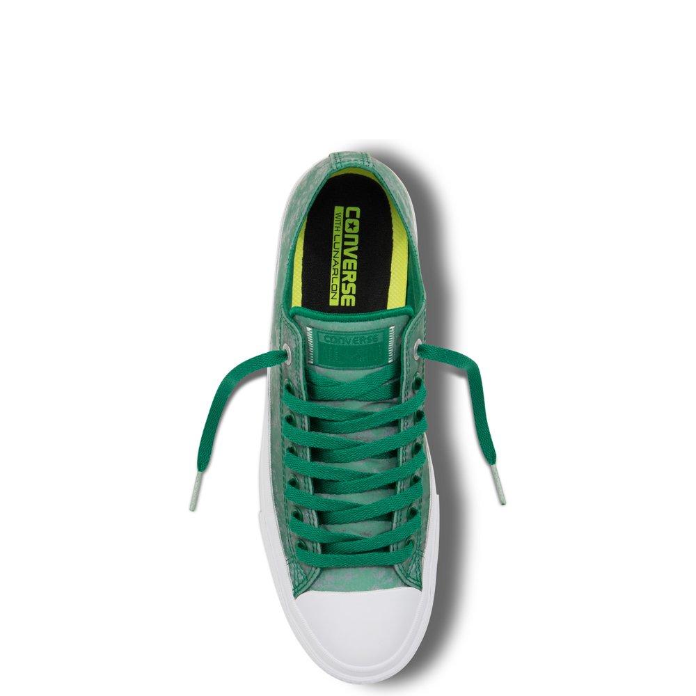 0a2383f4e0105b Converse Chuck Taylor All Star II Reflective Wash Amazon Green Silver  153547C CTAS II OX  Amazon.ca  Shoes   Handbags