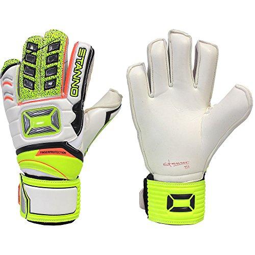 - Stanno Finger Protection Junior Goalkeeper Gloves for Soccer