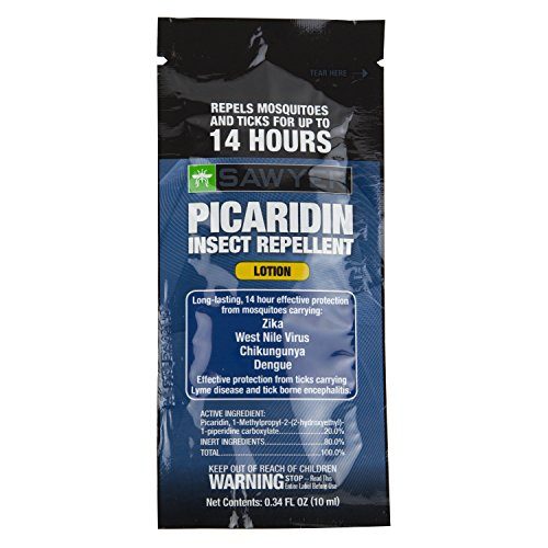 Sawyer Products Sawyer Products SP56114 Premium Insect Repellent with 20% Picaridin, Individual Lotion Packets, 14-Pack