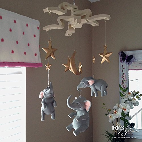 elephant-childrens-mobile-elephant-baby-mobile-eleanor-the-elephant-childrens-mobile-handmade-custom
