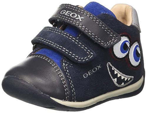 Geox B Each a, Zapatillas para Bebés Azul (Navy/royal)
