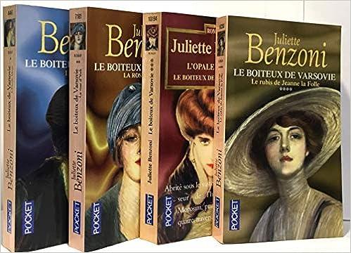 Amazon Fr Coffret 4vol Boiteux Varsovie Juliette Benzoni