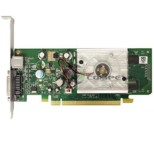 Nvidia GeForce 8440GS 256MB PCIe x16 DVI Graphics Card HP 445743-001 445681-001 256mb Dvi Video Cards