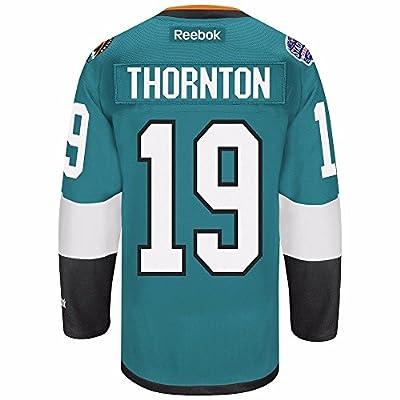 Joe Thornton San Jose Sharks NHL Reebok Men's Teal Green Name & Number Player #19 Jersey