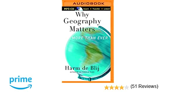 Amazon.com: Why Geography Matters: More Than Ever (0889290461452 ...
