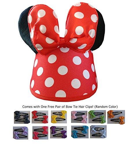 Mickey/Minnie Mouse Style Hat Visor Ears Cap Boys,