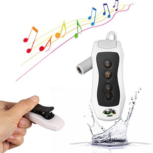 Elegiant® 8GB Waterproof MP3 Player FM Radio with LCD Display for Swimming Or other Sports