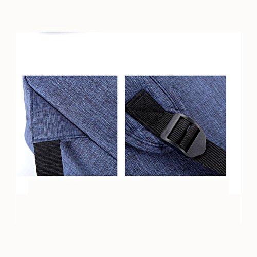 Laptop Backpack Mochila para portátil hasta 14 pulgadas para negocios / trabajo / viajes Mochila para portátil ultra ligera , red Black