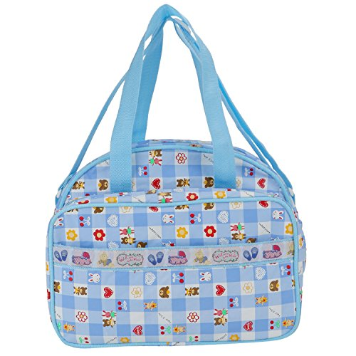 Littly Multipurpose Waterproof Mother Bag, Blue