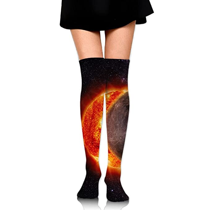 Eclipse Womens Weekend Collection Gallery Over the Knee Socks
