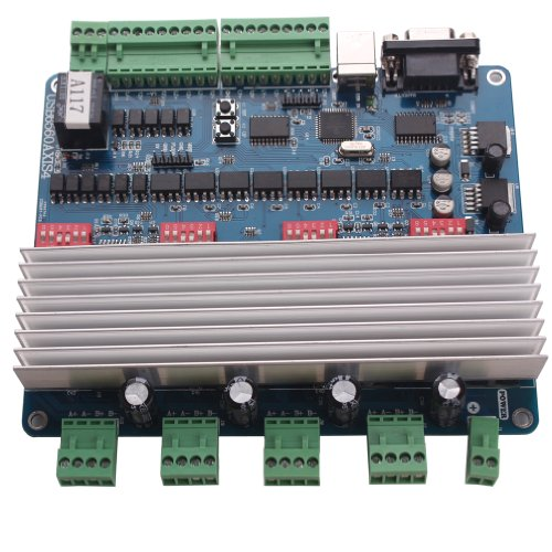 Sunwin 4 axis nema23 3 0a stepper motor usb driver board for Usb stepper motor controller