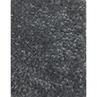 Area Rug Carpet. KINGS CASTLE GREY 30 oz. ½ Thick. 100% Polyester fiber, Medium Density, Soft and Durable. MULTIPLE SIZES, SHAPES and Brilliant Colors.