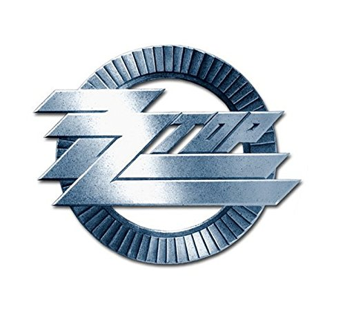 Zz Top Pin Badge Circle Band Logo Official Metal Size One Size