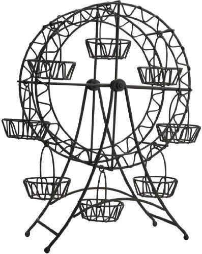 Home Essentials Elegant Ferris Wheel Cupcake Holder & Display Stand by Black