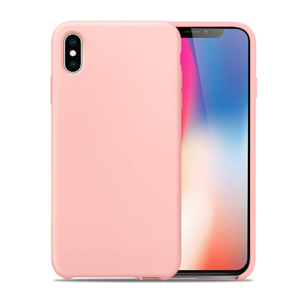 Bakicey iPhone X H/ülle iPhone XS H/ülle iPhone XS Silikon Handyh/ülle Schutzh/ülle Bumper Case Schutz Tasche vor Sto/ßfest//Scratch Schale Cover f/ür iPhone X//Xs