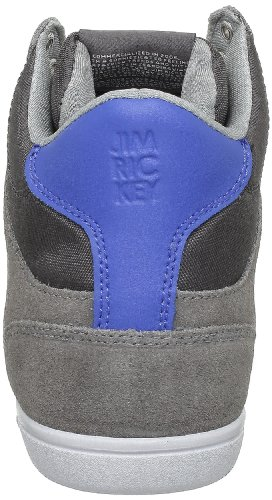 Jim Rickey Carve Mid - Zapatillas de estar por casa Hombre Dark Grey Electric Blue