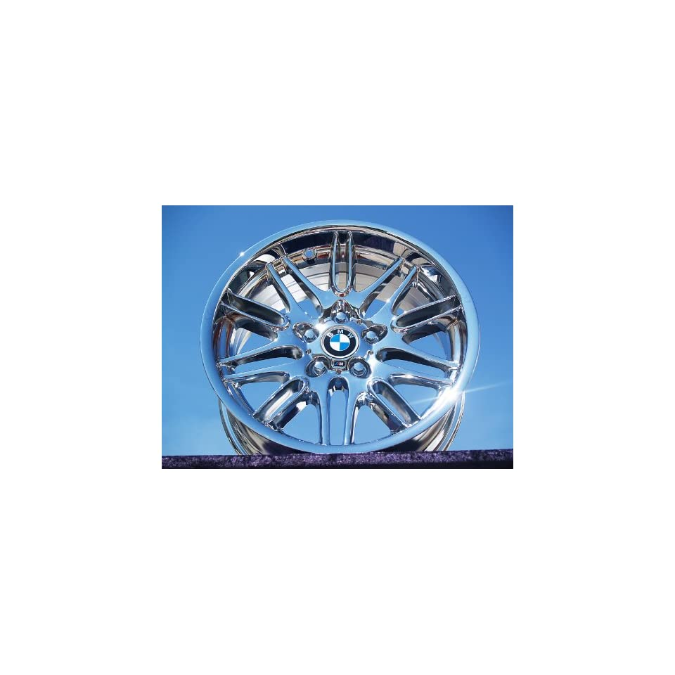 BMW M5Style 65 (M65) Set of 4 genuine factory 18inch chrome wheels