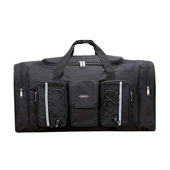 Amazon.com: Sunyastor Bolsa de lona para viajes, extra ...