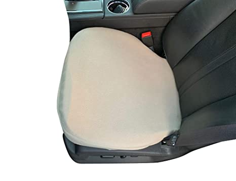 Outstanding Auto Console Covers Seat Cover Bottom Only 1 Cover Taupe Fleece Universal Bucket Seat Protectors For Suvs Trucks Vans And Cars Machost Co Dining Chair Design Ideas Machostcouk