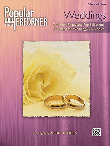 (Popular Performer -- Weddings: The Best Pop Hits for Wedding Services (Popular Performer Series) )