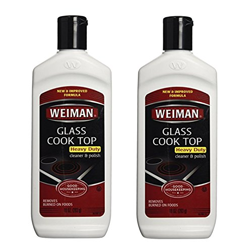 Price comparison product image Weiman Glass Cook Top Cleaner 10 oz. Bottle 2 Pack