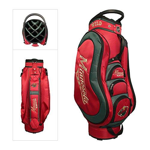 NHL Minnesota Wild Medalist Golf Cart Bag - Nhl Golf