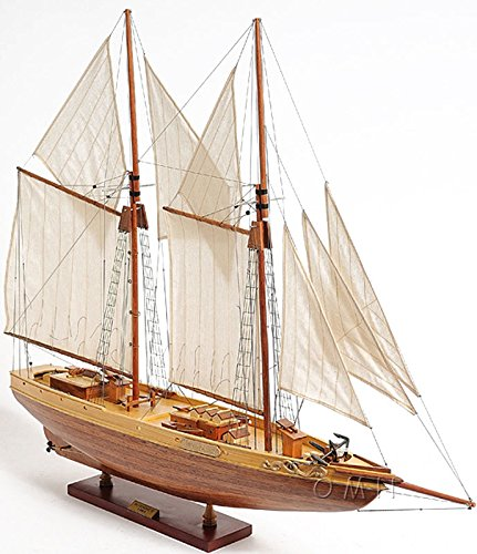 Schooner Bluenose Ii Wooden Ship Model 38