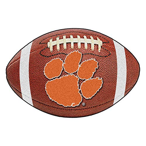 - FANMATS NCAA Clemson University Tigers Nylon Face Football Rug