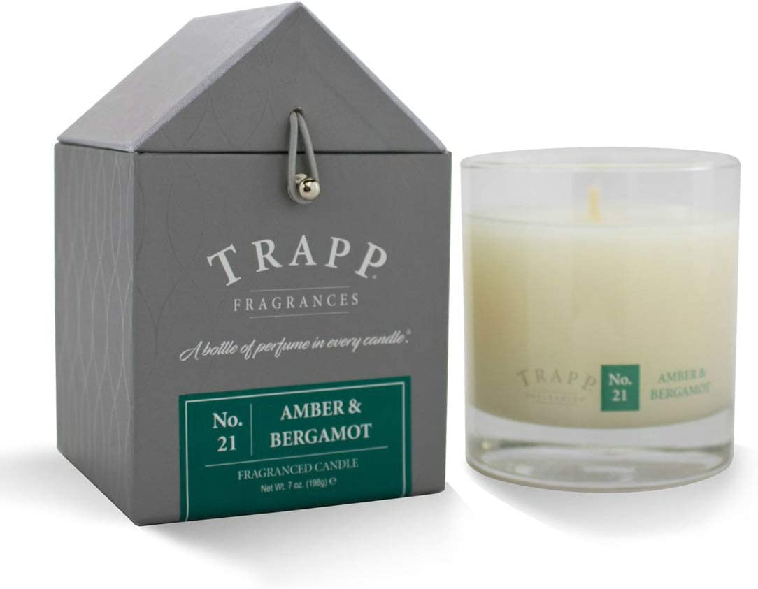 Bergamot Scented Candle \u2014 Hopscotch Candle \u2014 Home Decor Soy Candle \u2014 Perfect Gift for Her Wedding Gift Gift for Mum or Thank You Gift