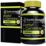 La Acetil L-Carnitina de Earths Design quema la grasa, combate la fatiga y aumenta la resistencia. Ayuda a que te recuperes de forma rápida durante las actividades físicas intensas.   La Acetil L-Carnitina también es conocida como ALCAR. Ayud...