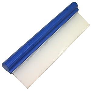 AERZETIX - Raclette bleue de séchage nettoyage lavage auto voiture - En silicone - C1567