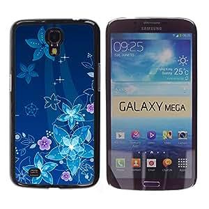 ¿Por qué nos flotar debajo del mar? - Metal de aluminio y de plástico duro Caja del teléfono - Negro - Samsung Galaxy Mega 6.3