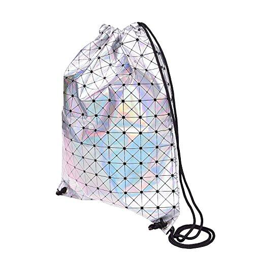 Vic grupo piel sintética bolsas de cordón Gimnasio Mochila Deportes hombro bolsa Tote Bolsas Casual daypacks embalaje organizadores (43,5x 35,5cm), mujer Infantil hombre, 2# 6#