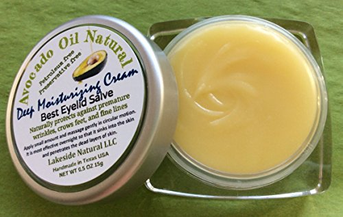 Organic Pure Avocado Oil Balm - Zero Water Concentrated Formula Avocado Oil Salve to Naturally Firm and Moisturize Against Premature Wrinkles - None Greasy Feel 2 Jar (Balm Formula)