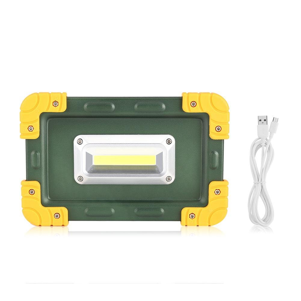 Work Light, 30W USB COB LED Portable Rechargeable Light Spot Work Camping Touch Lamp Outdoor